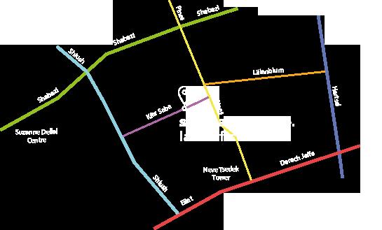 Shai Carmel Office Map